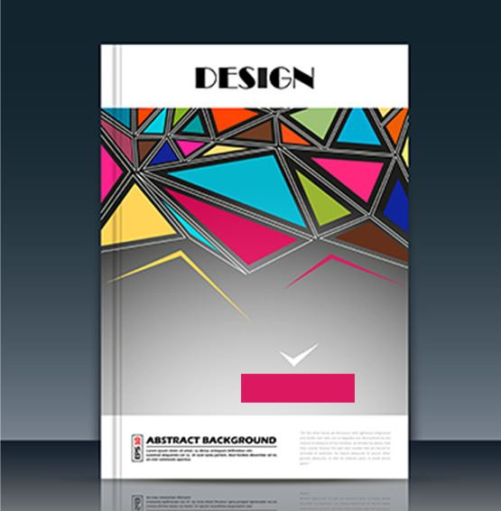 abstract background design book