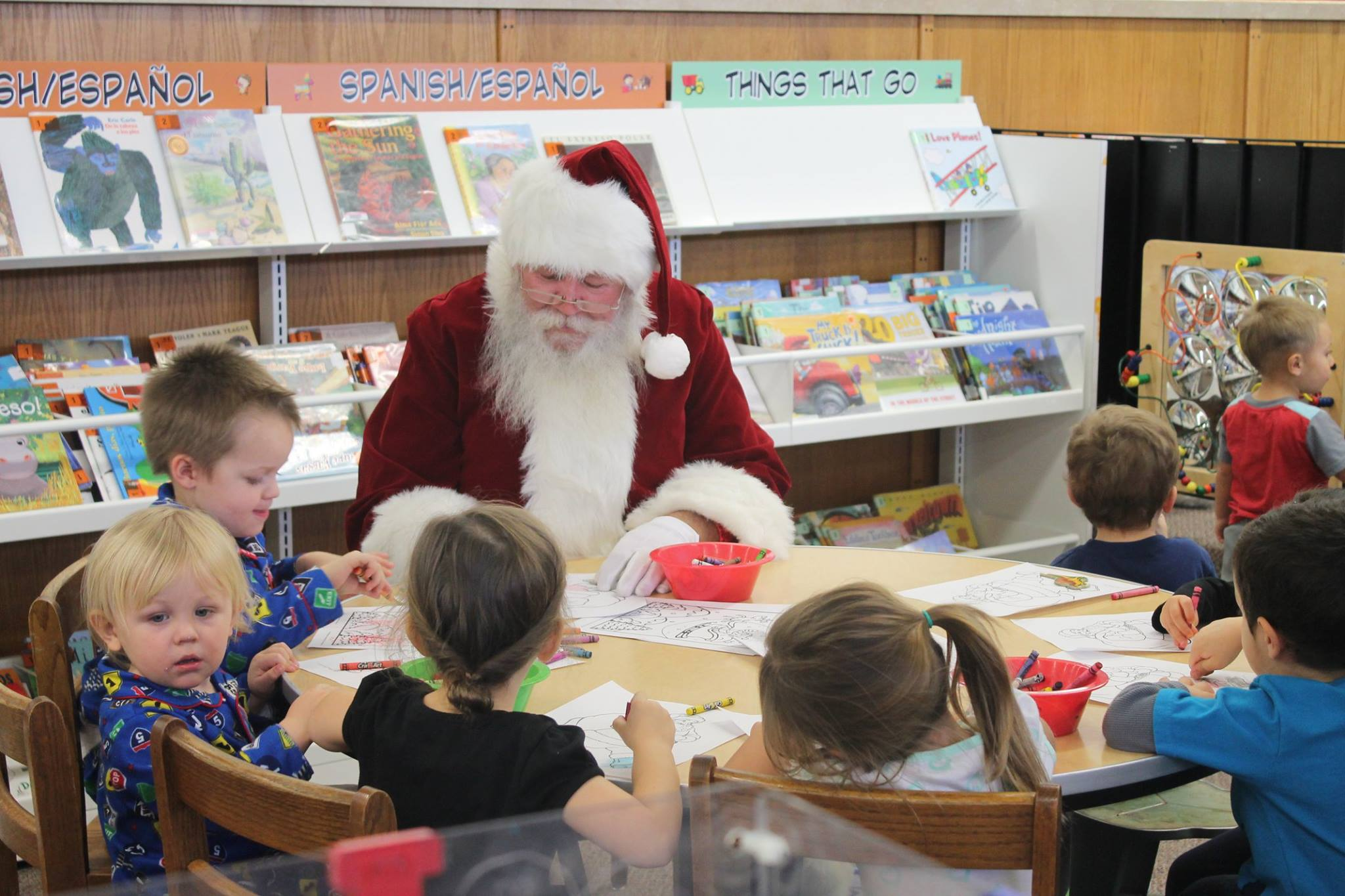 Santa Coloring with Kids